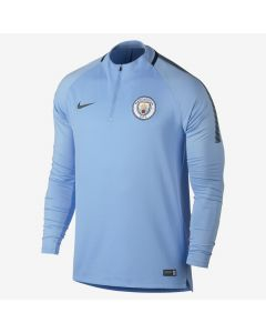Nike Manchester City Squad Drill Top 2017/18 - Field Blue