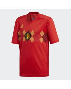 adidas Belgium Home Jersey Youth 2018 - Red - World Cup 2018