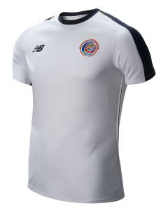 New Balance Costa Rica Away Jersey Mens 2018 - White - World Cup 2018